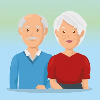 grandparents-couple-avatars-characters_24877-50629