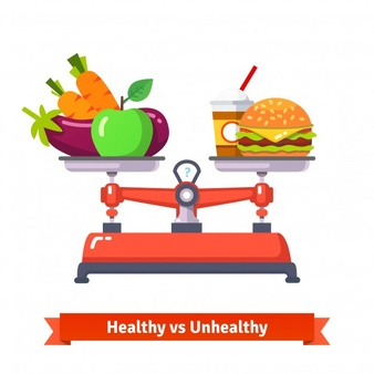 healthy-versus-unhealthy-food_3446-252