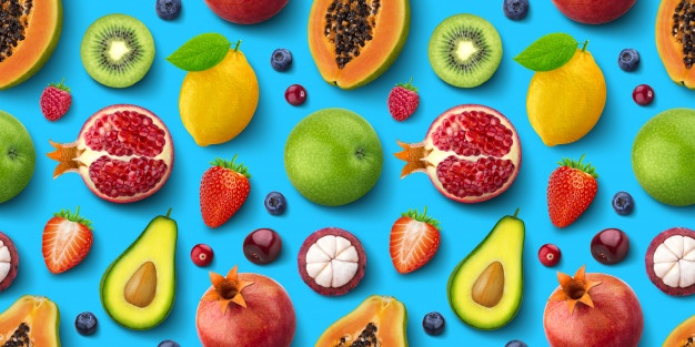seamless-pattern-different-fruits-berries-flat-lay-top-view-tropical-exotic-texture_88281-1034